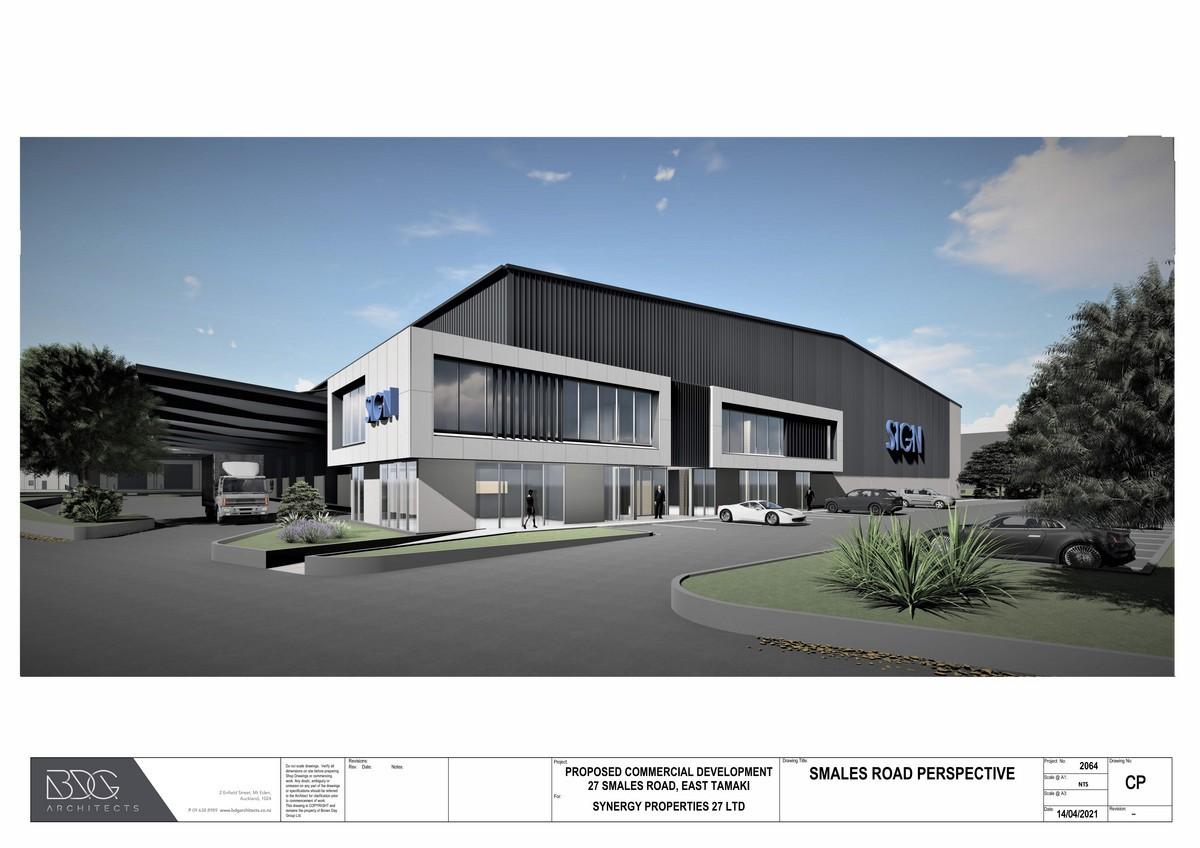 7,812m2 brand new high stud warehouse